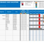 Employee Attendance Excel Sheet Free Download And Employee Attendance Sheet Format In Excel Free Download