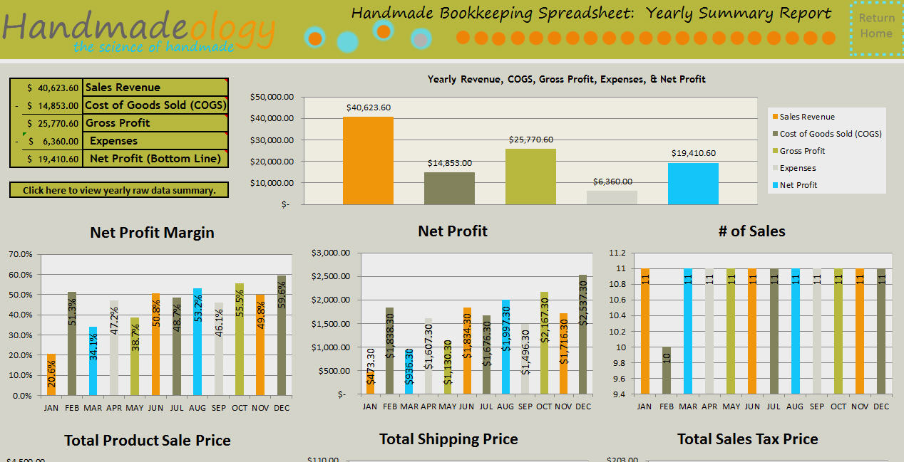 Example Of A Bookkeeping Spreadsheet