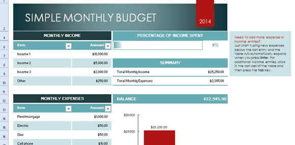 Excel Budget Template For Small Business And Non Profit Budget Template Excel