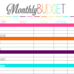 Family Budget Excel Template