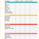 Free Budget Worksheets Excel And Free Budget Template Excel Household