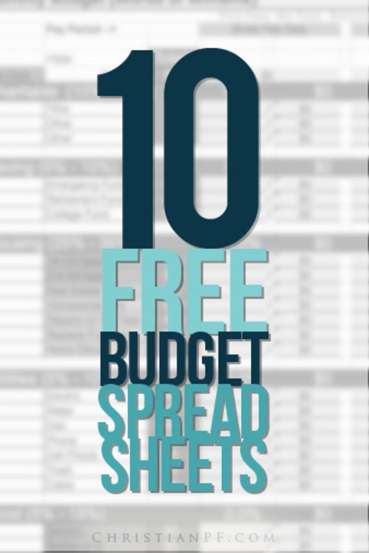 Free Financial Planner Spreadsheet