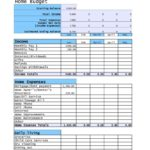 Free Home Renovation Budget Spreadsheet