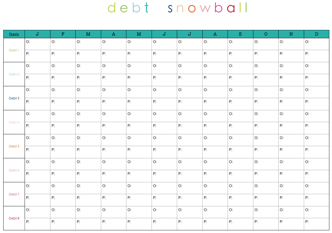 Free Online Debt Reduction Planner