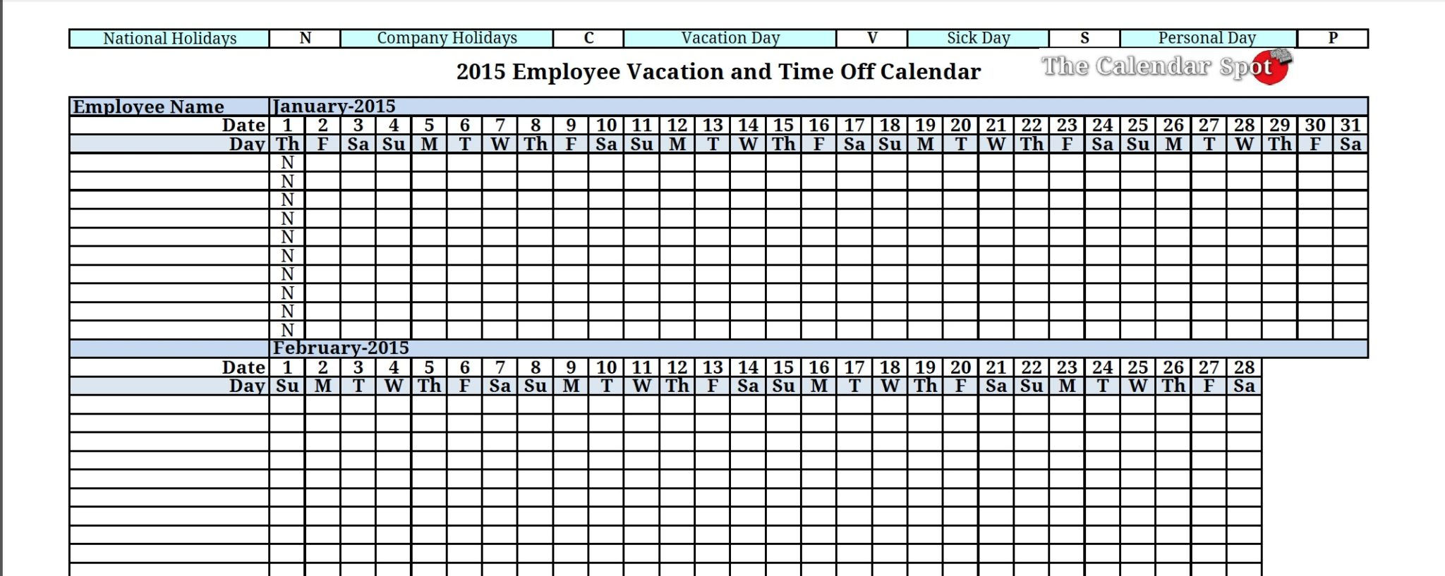 Free Online Employee Attendance Tracker And Employee Attendance Tracking Template Free And
