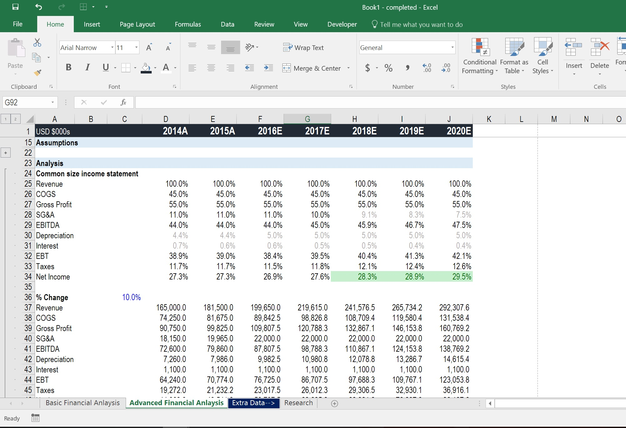 Free Spreadsheet Lessons