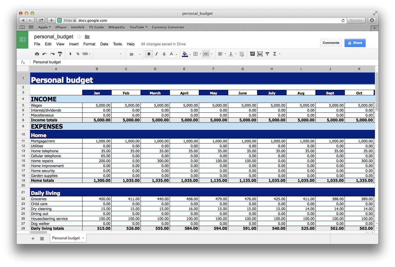 Freeware Spreadsheet Software