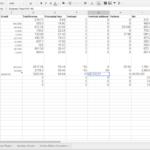 Google Docs Formulas