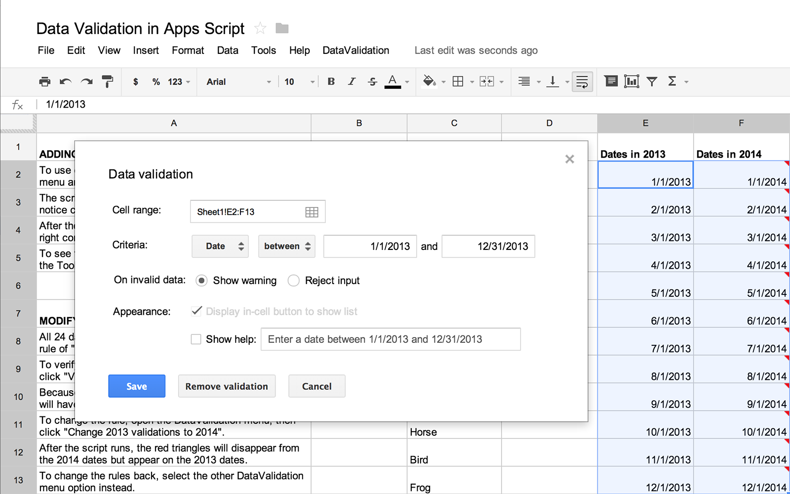 Google Sheets Api Javascript