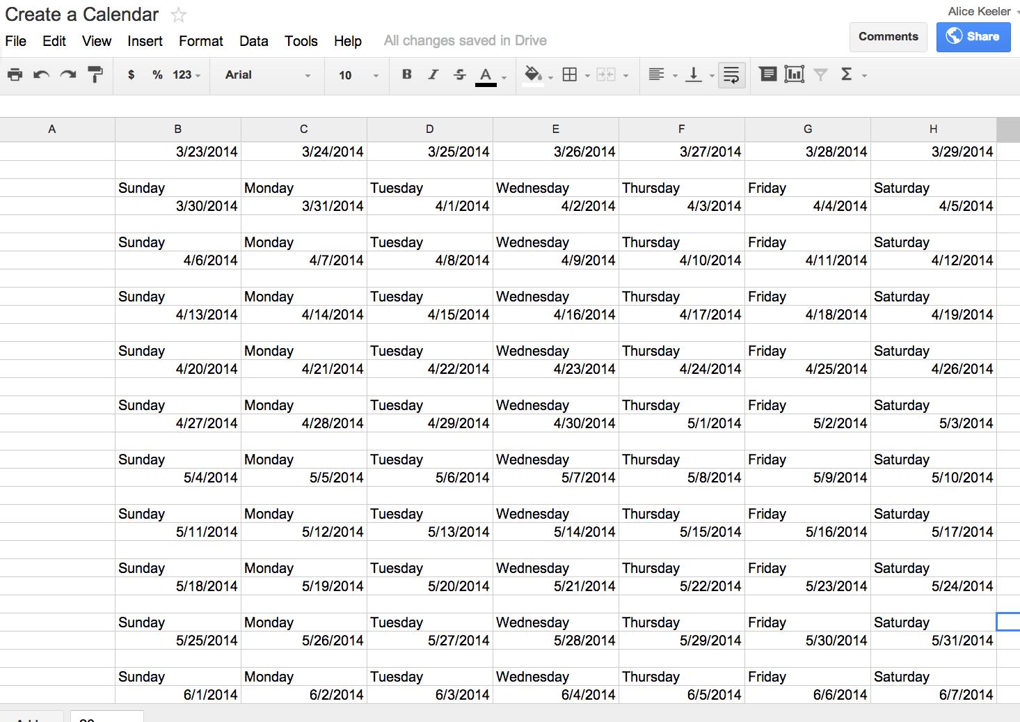 Google Sheets Formula