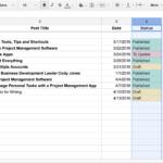 Google Spreadsheet Formulas Examples