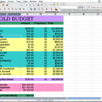 Home Budget Spreadsheet Free