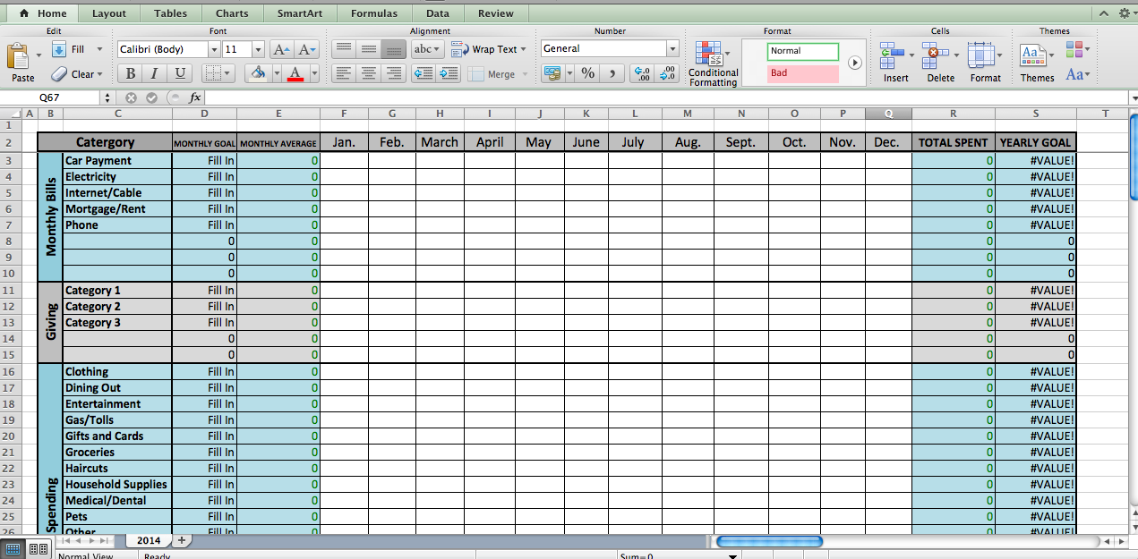 how to create polygraph excel
