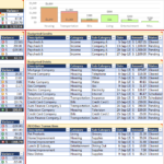 How To Make An Excel Spreadsheet For Household Budget