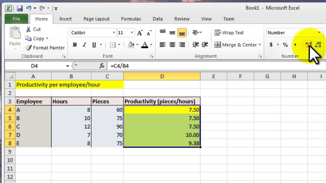 How To Sum Hours In Excel
