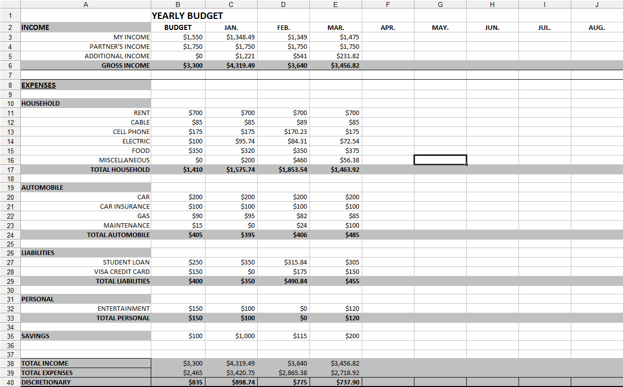 Information Technology Budgeting