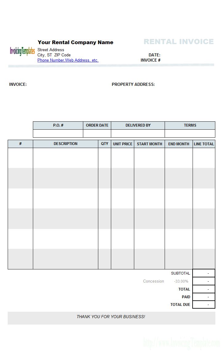Landlord Excel Spreadsheet Free
