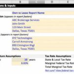 Operating Lease Calculator Excel