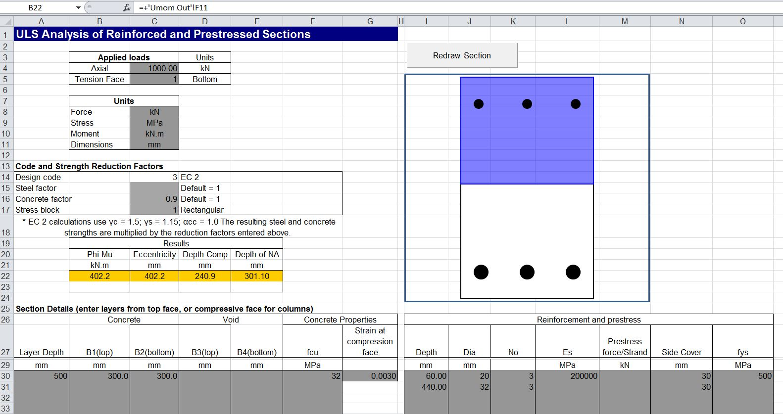 Pile Foundation Design Excel Spreadsheet