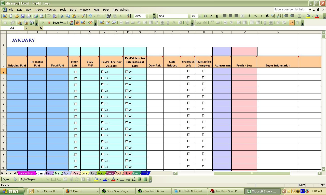 Sales Pipeline Spreadsheet Example Nbd