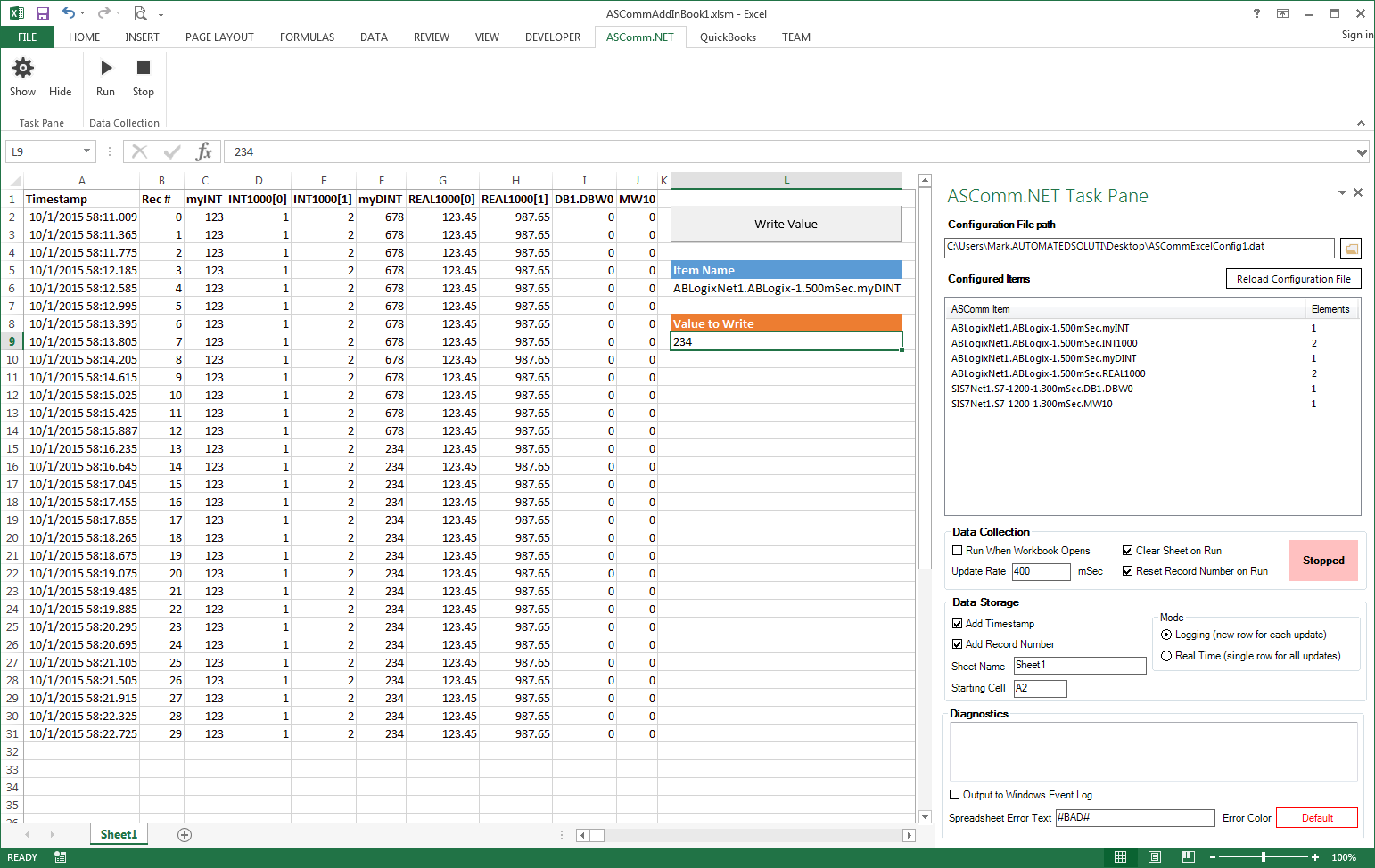 Server Documentation Template Excel | Natural Buff Dog