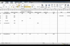 Examples Of Bookkeeping Spreadsheets