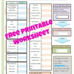Simple Budget Worksheet