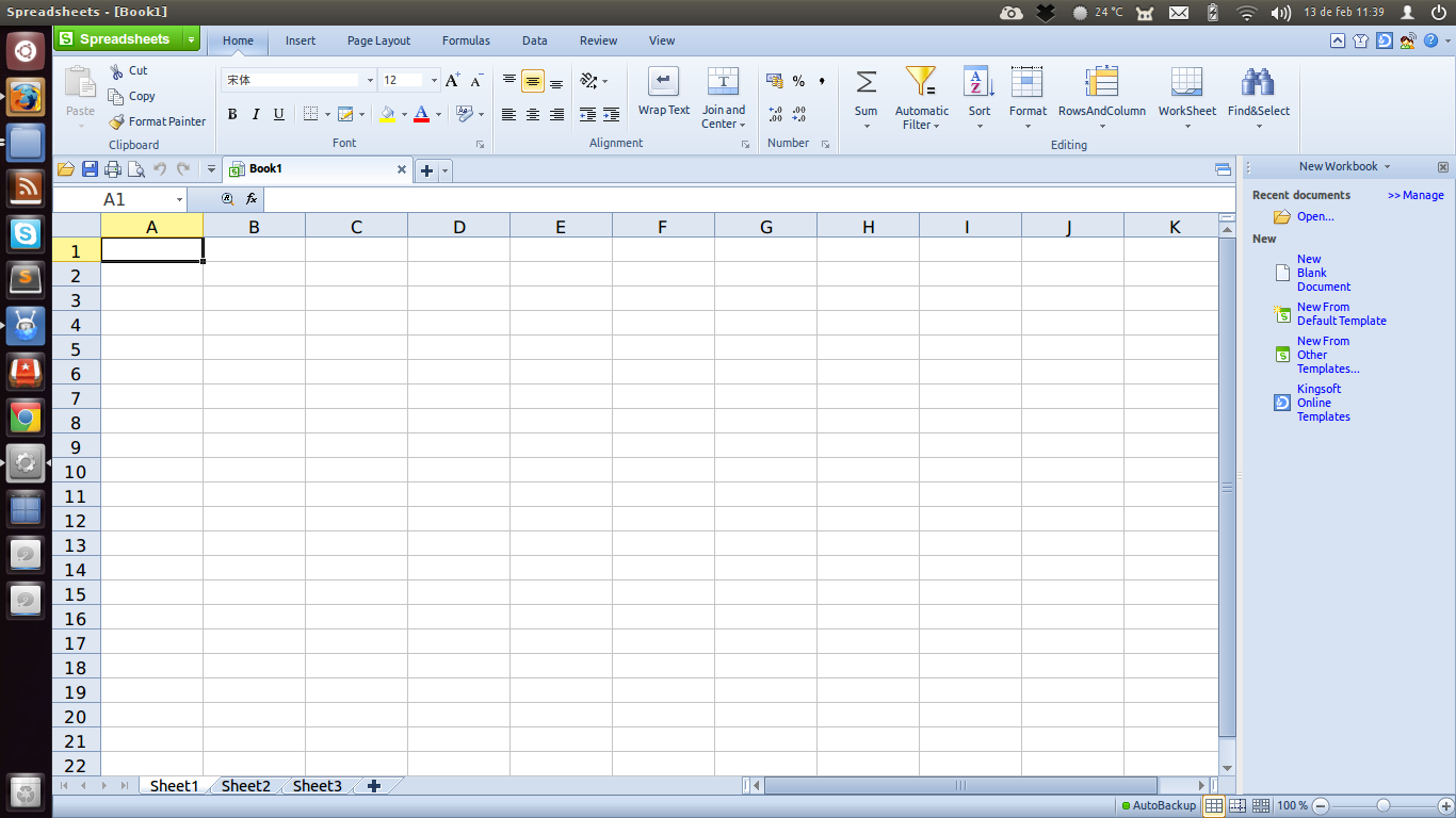 Wps Office Spreadsheet