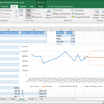 12 Month Sales Forecast Excel Template
