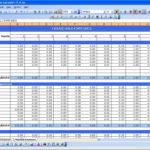 Accounting Spreadsheet Template Australia