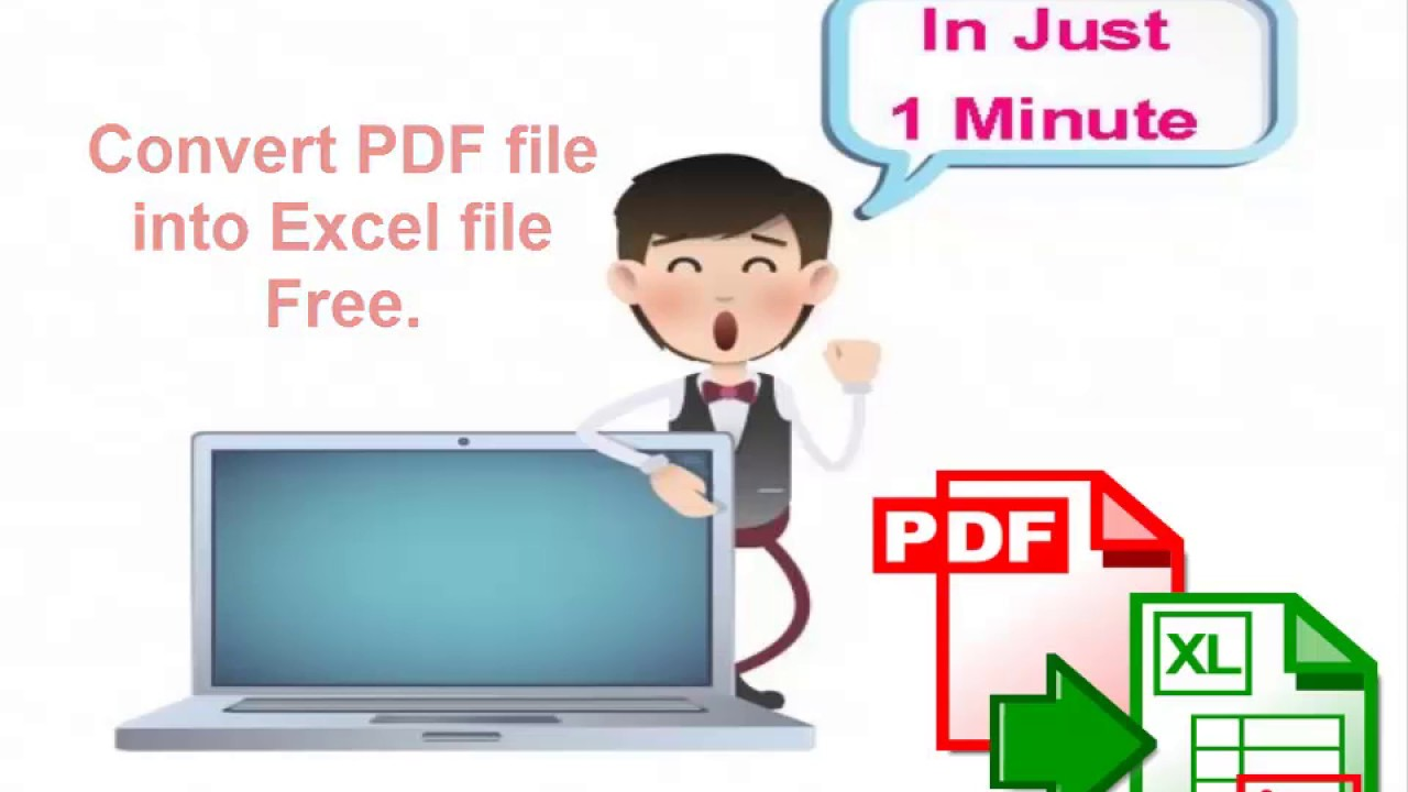Convert Pdf To Excel Spreadsheet