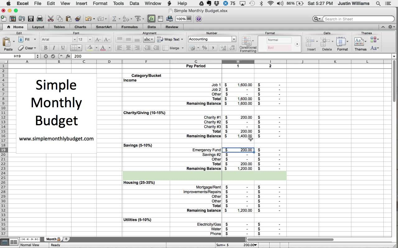Dave Ramsey Budget Spreadsheet Download