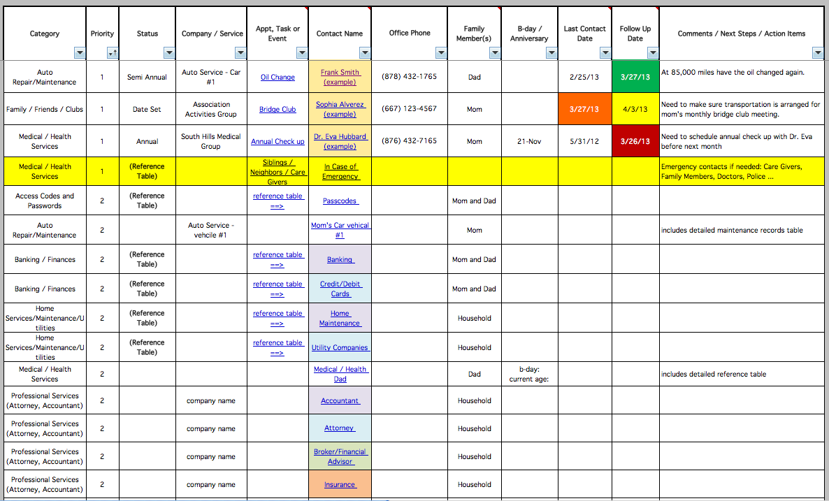 Defect Tracking Spreadsheet Template