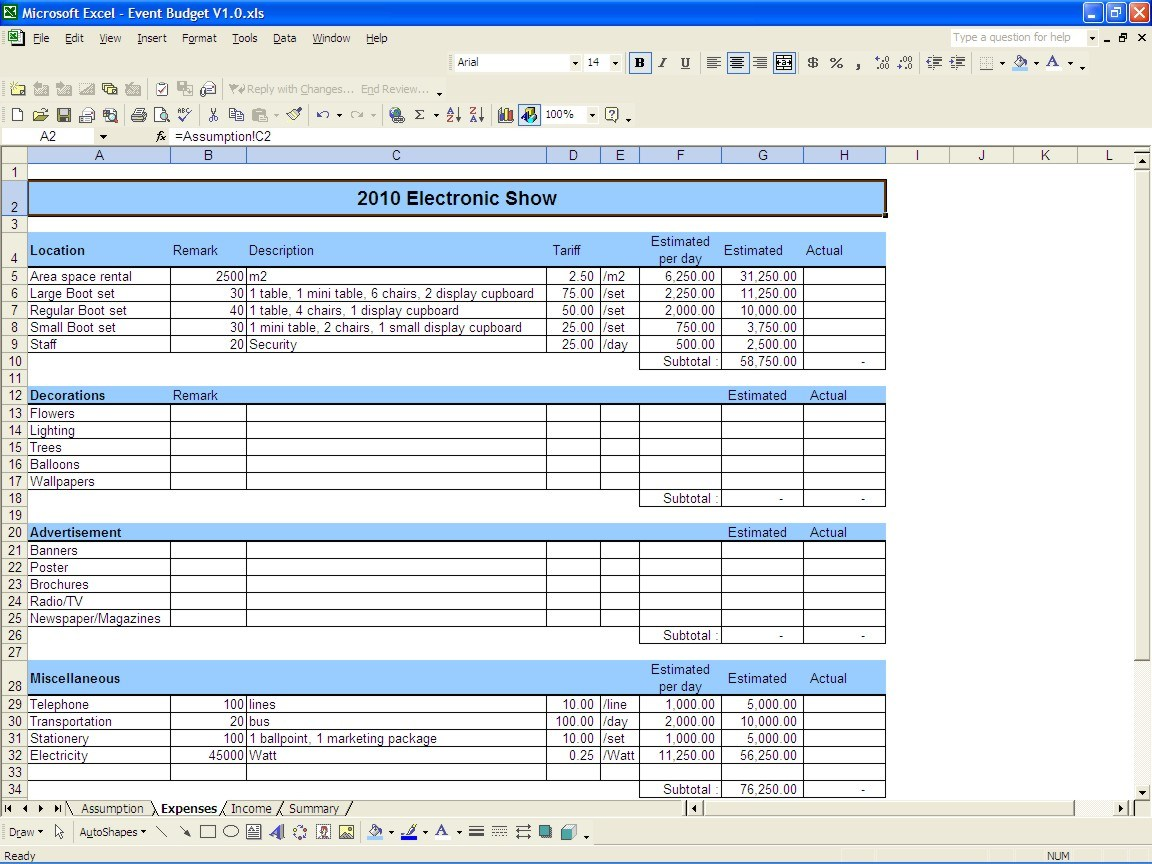 Double Entry Bookkeeping Examples