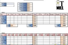 Spreadsheet To Calculate Hours Worked