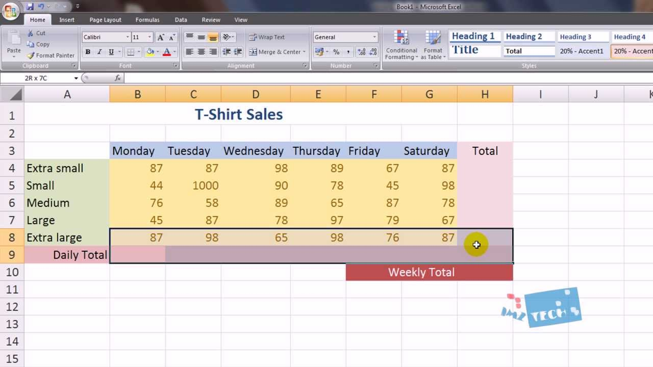 Excel Spreadsheet Lessons And Free Spreadsheet Tutorials