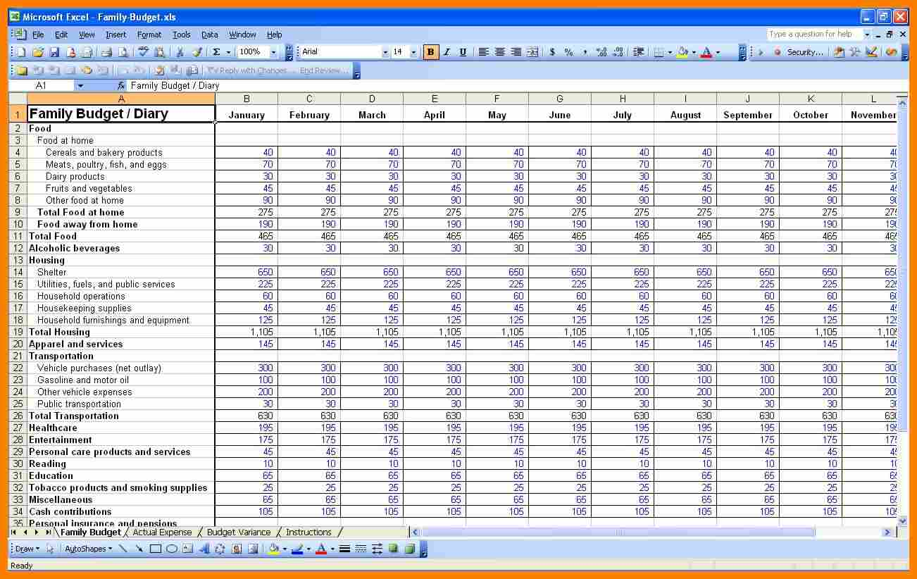 Finance Spreadsheet App And Financial Management Spreadsheet