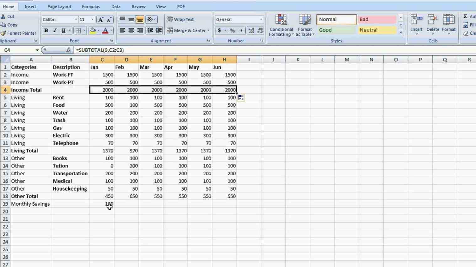 How Do You Make A Spreadsheet On Microsoft Excel 2007