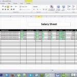 How To Make A Spreadsheet Using Microsoft Excel