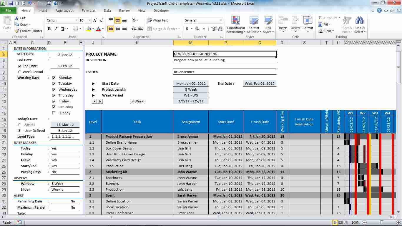 Incident Tracking Log Excel
