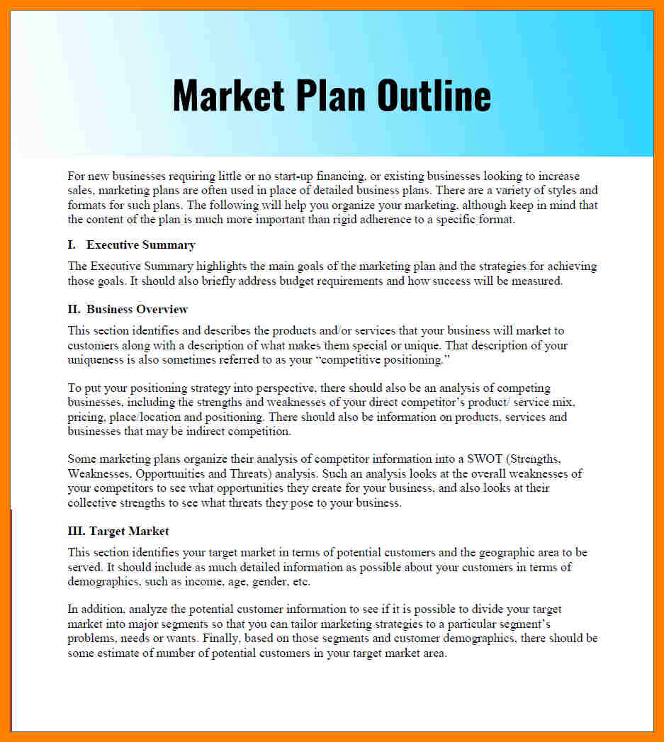 Marketing Budget Template For Small Business