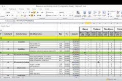 Labor Tracking Spreadsheet