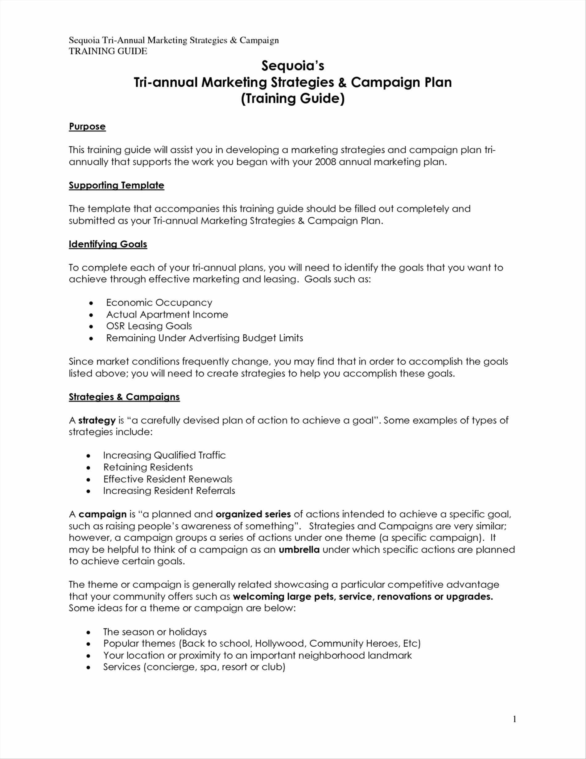 Sample Marketing Budget Worksheet
