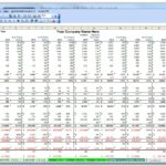 Sample Of Excel Spreadsheet