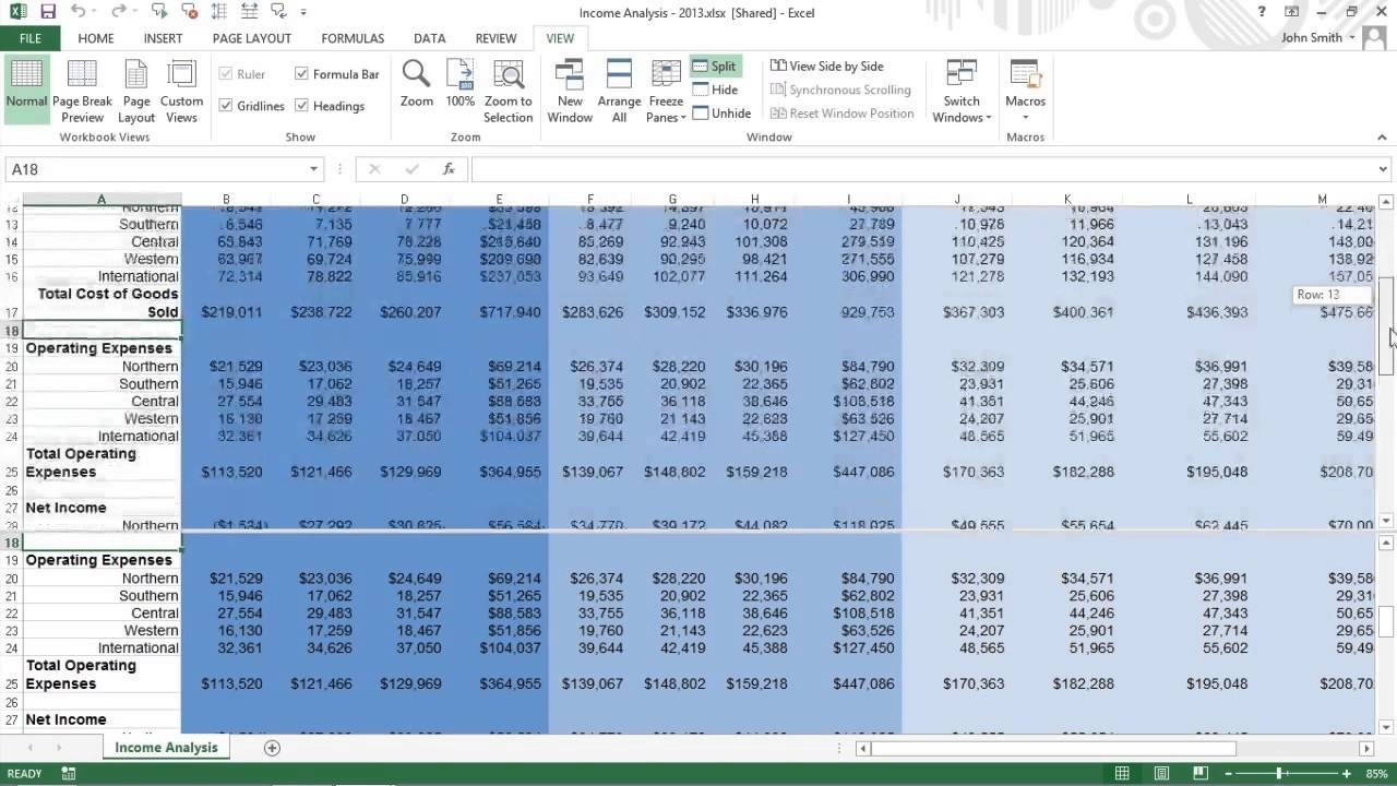 Sharing Excel Spreadsheet Google Docs