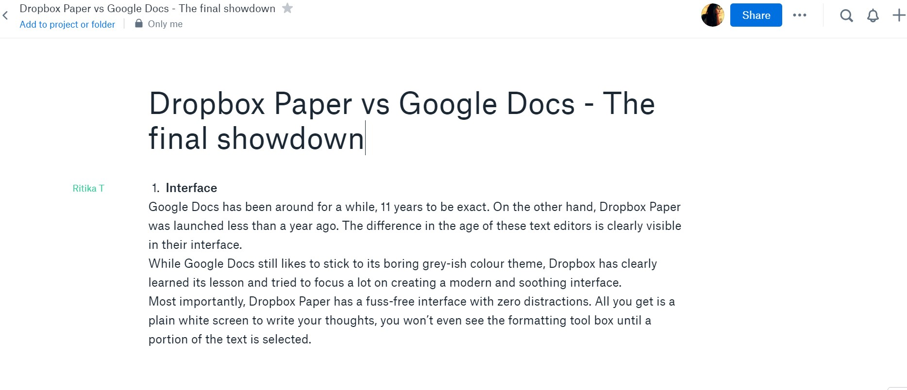 Sharing Google Docs and Google Folders Shared