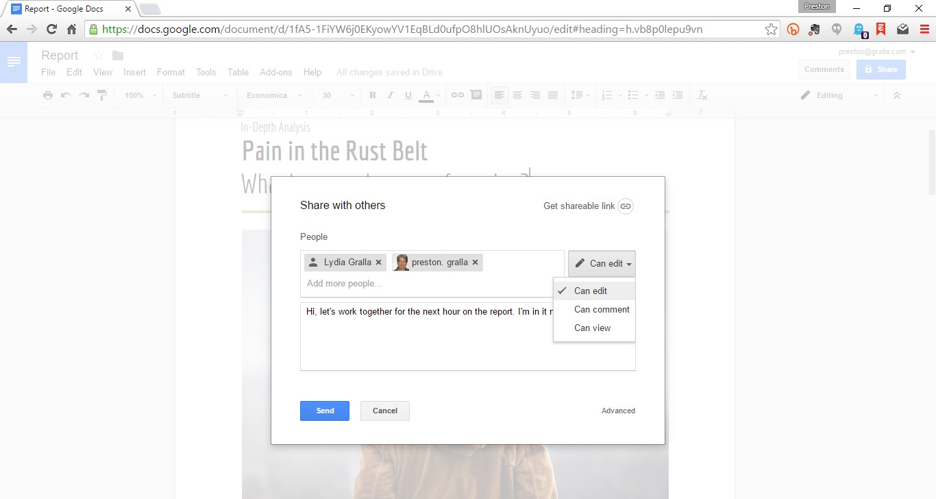Sharing Google Sheets With Non Gmail Users