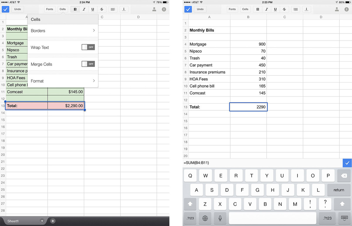Sharing Settings Google Docs
