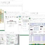 Sheet Pile Design Spreadsheet And Equipment Maintenance Schedule Template Excel