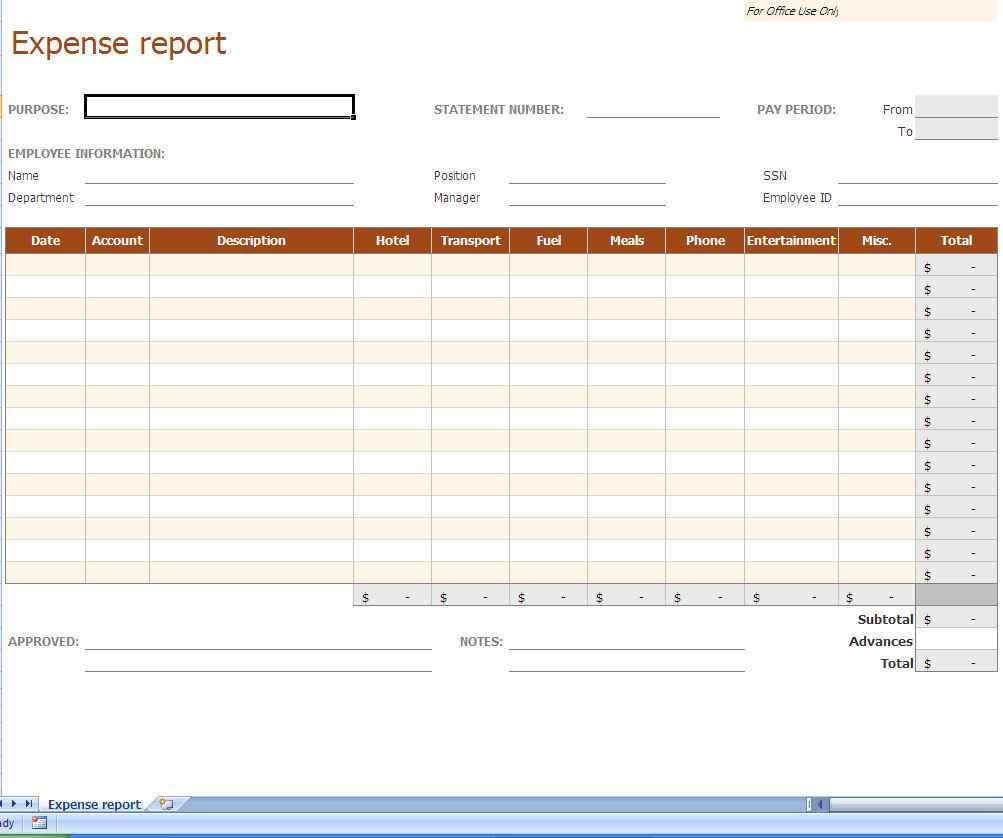 Small Business Income And Expense Sheet